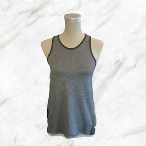 Athletic Works | Black & Heather Gray Workout Tank